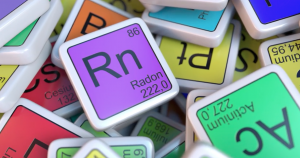 Radon in the periodic table