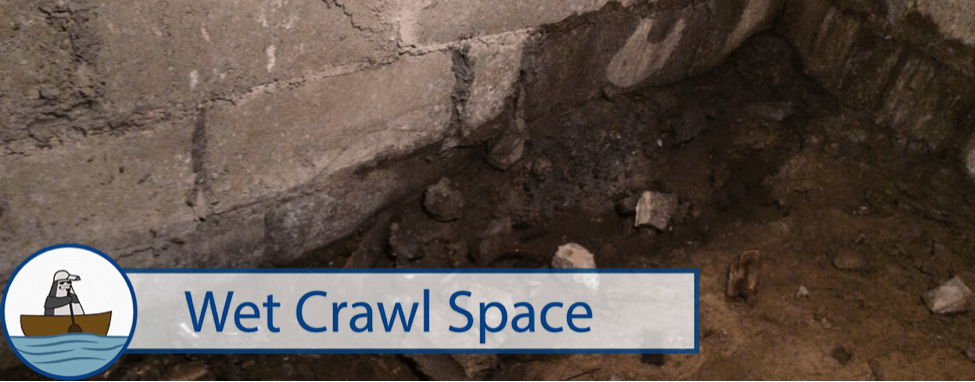 Wet Crawl Space