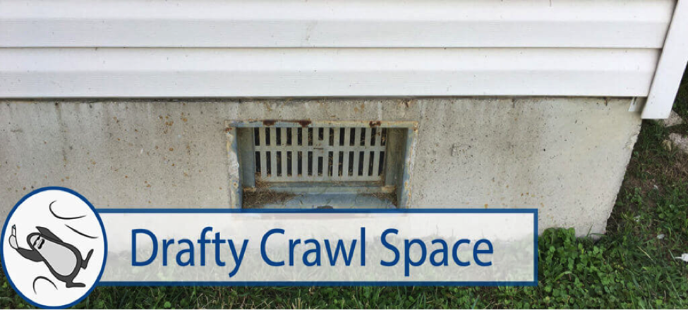 Drafty Crawl Space